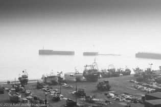 Dock in B&W