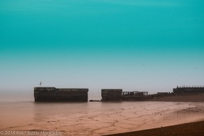 The Quay in Green Blue