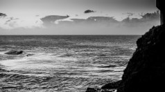 Black and White Dawn over Hastings