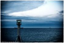 Blue Sea Green Light
