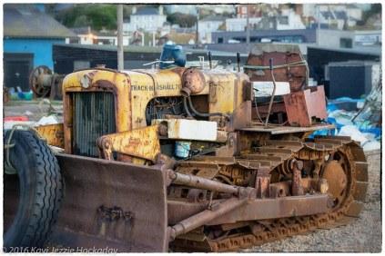 Track Marshall Tractor