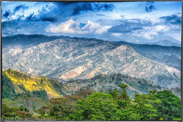 The Costa Rican Hills.