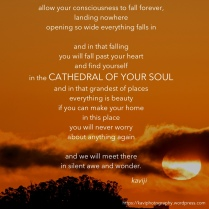 cathedral of your soul