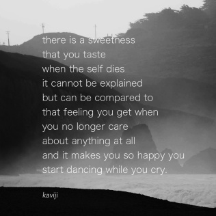 dancing while you cry